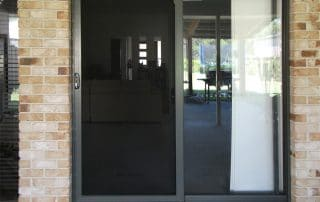 alu gard security screens door