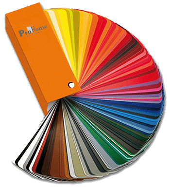 aluminium colour palette